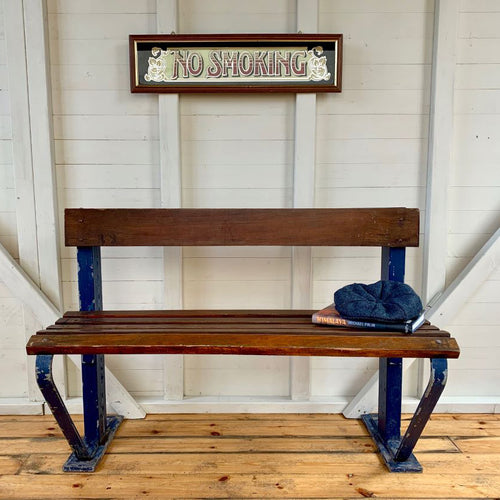 1930s German Factory Bench