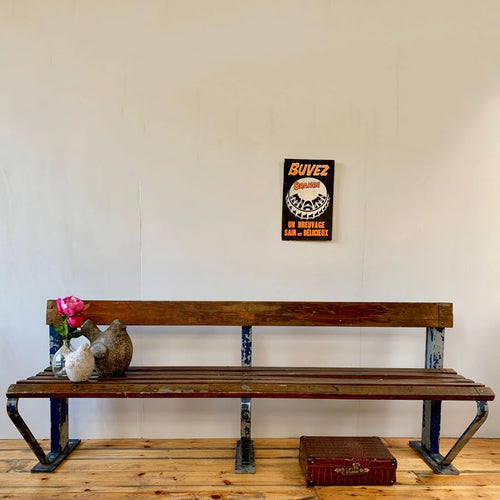 1930s Large German Factory Bench