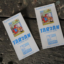 Load image into Gallery viewer, 1950s Tarzan Chewing Gum Promo Prints
