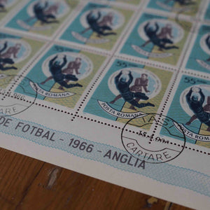 1966 Vintage Football Stamps