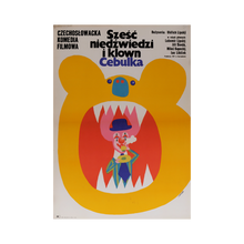 Load image into Gallery viewer, Film Poster 'Six Bears and a Clown' | Poland | 1973