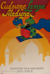Film Poster 'The Wonderful Lamp of Aladdin' | Poland | 1971