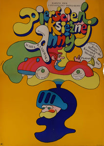 Film Poster 'The Ring of Princess Ann' | Poland | 1970