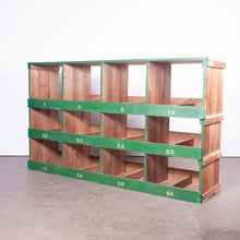 Load image into Gallery viewer, Low Victorian Pigeon Hole Unit/Storage/Shelving Unit - 4 Bay