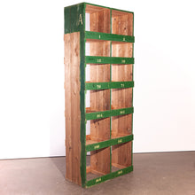 Load image into Gallery viewer, Tall Victorian Pigeon Hole Unit/Storage/Shelving Unit - 2 Bay