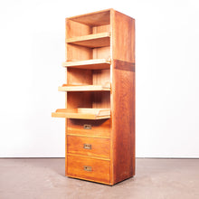 Load image into Gallery viewer, 1950s Tall Haberdashery Unit/Chest Of Drawers / Wardrobe