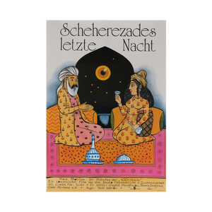 Film Poster 'The Last Night of Scheherazade | East Germany | 1989