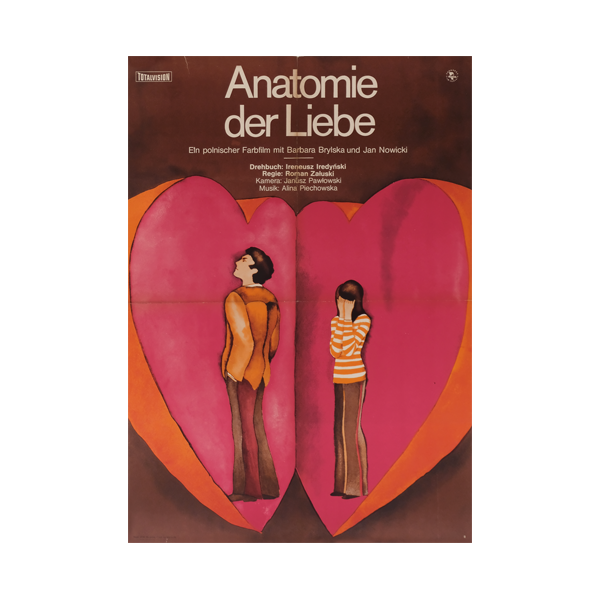 Theatre Poster 'Anatomy of Love' | East Germany | 1974
