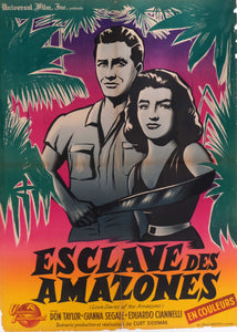 Film Poster 'Love Slaves of the Amazon' | France | 1959