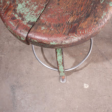 Load image into Gallery viewer, 1950s Pair Of French Industrial Swivelling Welders Stools