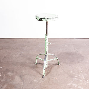 1950s French Industrial Welders Stool #2