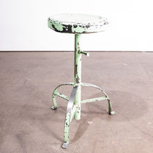 Load image into Gallery viewer, 1950s French Industrial Welders Stool #2
