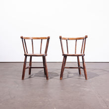 Load image into Gallery viewer, 1890s Pair Of Victorian Child's Chairs