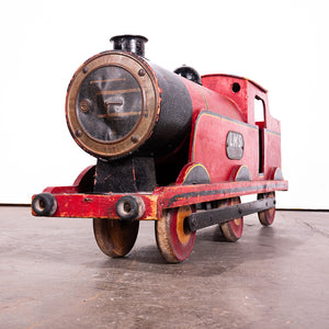 1920s Shop Window Display Steam Train Locomotive And Rolling Stock - Lines Brothers