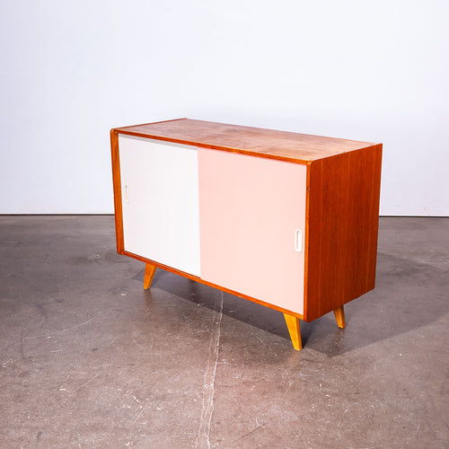 1950s Two Door Oak Cabinet By Jiri Jiroutek For Interieur Praha