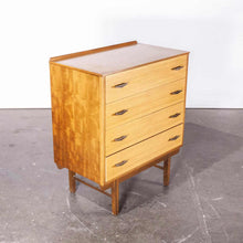 Load image into Gallery viewer, 1960's French Mid Century Teak Chest Of Drawers