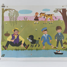 Load image into Gallery viewer, Vintage 1966 Fernand Nathan French School Poster/Print (B2)