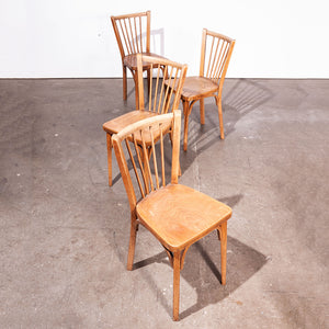 1950s Baumann Bistro Dining Chairs - Set Of Four