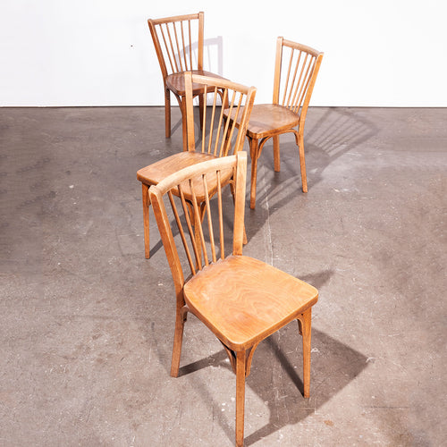 1950's Baumann Bistro Dining Chairs - Set Of Four