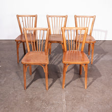 Load image into Gallery viewer, 1950s Baumann Bistro Dining Chairs - Set Of Six