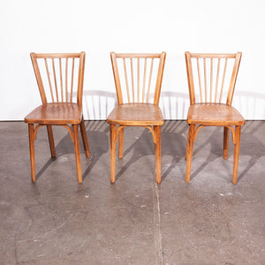 1950s Baumann Bistro Dining Chairs - Set Of Six
