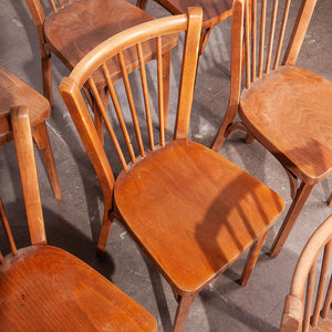 1950s Baumann Bistro Dining Chairs - Set Of Eight