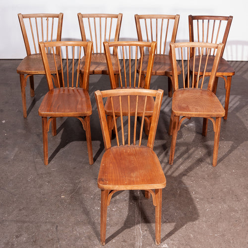 1950's Baumann Bistro Dining Chairs - Set Of Eight