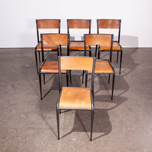 Load image into Gallery viewer, 1950s Mullca Tapered Leg Stacking Dining Chairs - Set Of Twelve