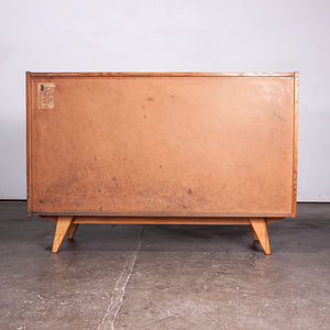 1950s Eight Drawer Oak Chest Of Drawers By Jiri Jiroutek For Interieur Praha