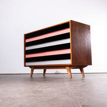 Load image into Gallery viewer, 1950s Eight Drawer Oak Chest Of Drawers By Jiri Jiroutek For Interieur Praha (368)