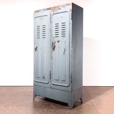 1930's Original Wooden Locker - Storage Cupboard - By De Dietrich