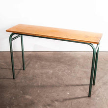 Load image into Gallery viewer, 1950's French Mullca School Desk - Console Table