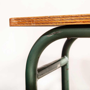 1950's French Mullca School Desk - Console Table (435.4)