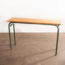 Load image into Gallery viewer, 1950's French Mullca School Desk - Console Table (435.4)