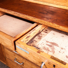 Load image into Gallery viewer, 1950s Tall Laboratory Storage Cupboard / Cabinet / Dresser