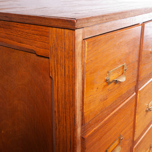 1940s Light Ash Chest Of Drawers / Drawer / Filing Cabinet - A