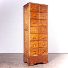 Load image into Gallery viewer, 1940s Light Ash Chest Of Drawers / Drawer / Filing Cabinet - A