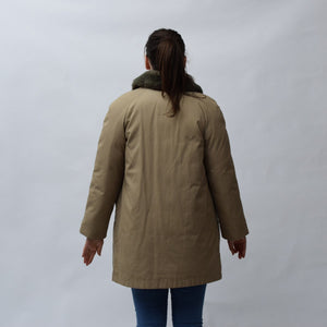 Bauer Down Brown Vintage Coat