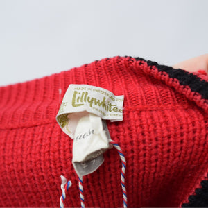 Red Lilywhites Jumper