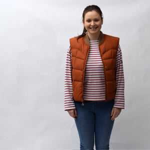 Gerry Orange Vintage Gilet