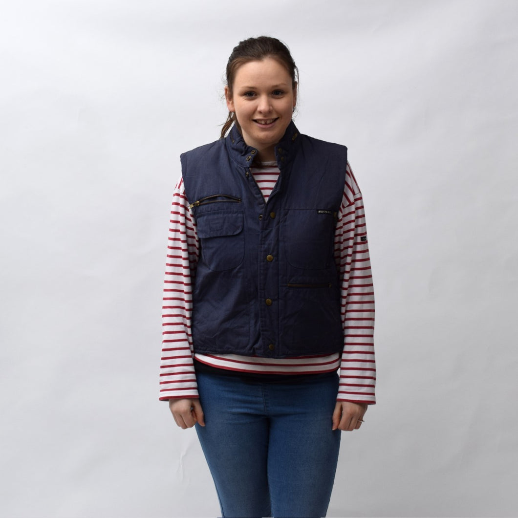 Mighty Mac Boyswear Navy Gilet