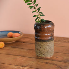 Load image into Gallery viewer, Vintage Rustic Ceramic Studio Pottery Vase