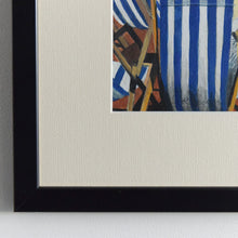 Load image into Gallery viewer, Contemporary Original Framed Bodycolour Painting by Artist C.R.Brook