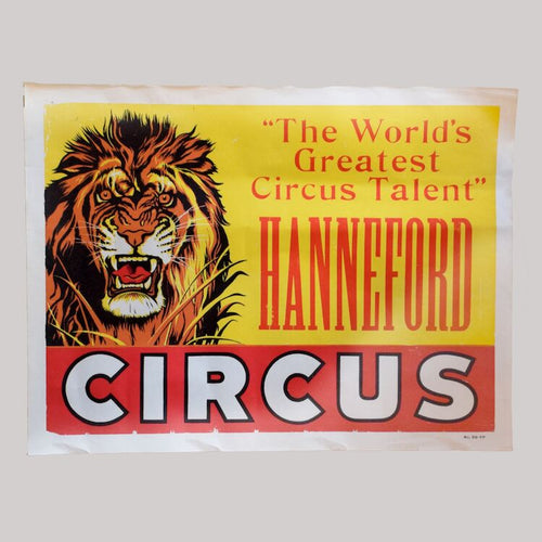 Vintage Circus Poster - 15 - Hanneford