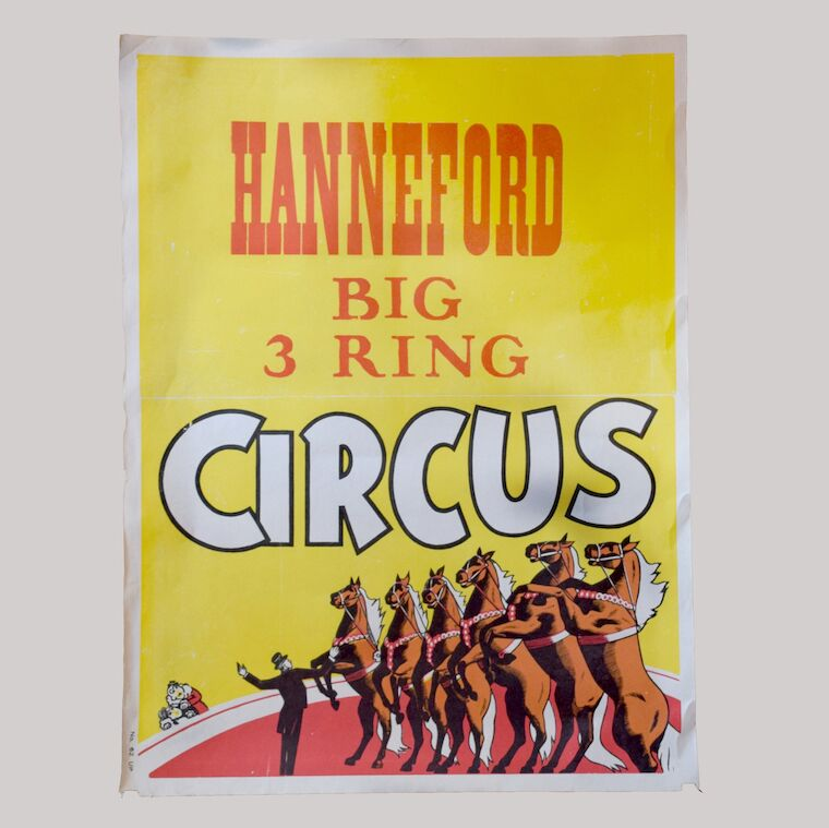 Vintage Circus Poster - 16 - Hanneford