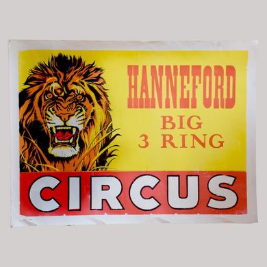 Vintage Circus Poster - 18 - Hanneford