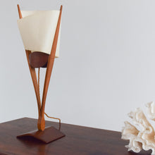 Load image into Gallery viewer, Vintage Unique David Pye Prototype Modernist Table Lamp with Textured Shade
