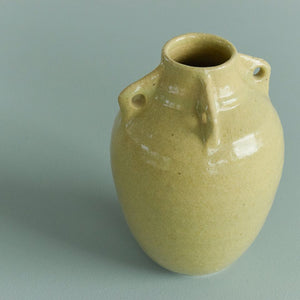 Vintage Studio Pottery Vase with Handles by Snowden