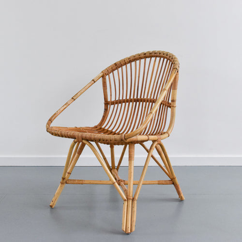 Vintage Bamboo / Cane Chair