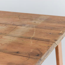 Load image into Gallery viewer, Vintage Rustic Wooden Folding Trestle Table